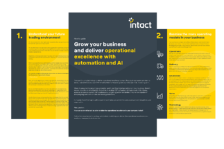 Deliver operational excellence with automation